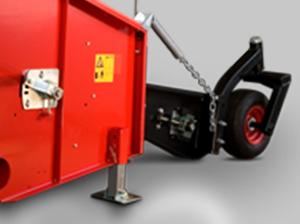 El cabezal Nardi Pick Up es un sistema fuerte y resistente con una gran ancho de trabajo. Es compatible con todos los modelos y cosechadoras.