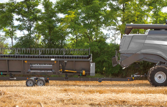 header trailer transporter Nardi Harvesting