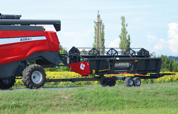 header trailer safe transporter