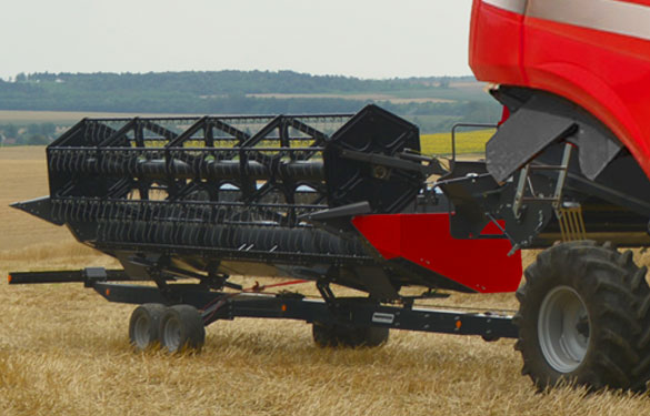 header trailers Nardi harvesting transporter with perfect fitting