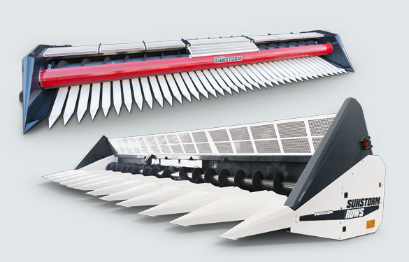 sunflower and sorghum header pans style for every combine harvesters (john deere, claas, case ih, fendt)