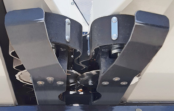 sistema di taglio della barra multicrop